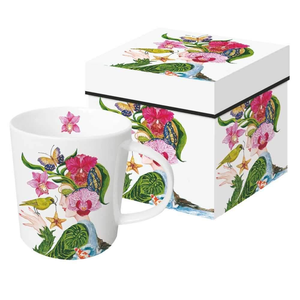 Trend Mug La Flora,  große Porzellantasse