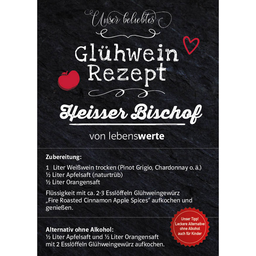 """""""Fire Roasted Cinnamon Apple Spices"""" -  Glühweingewürz"""