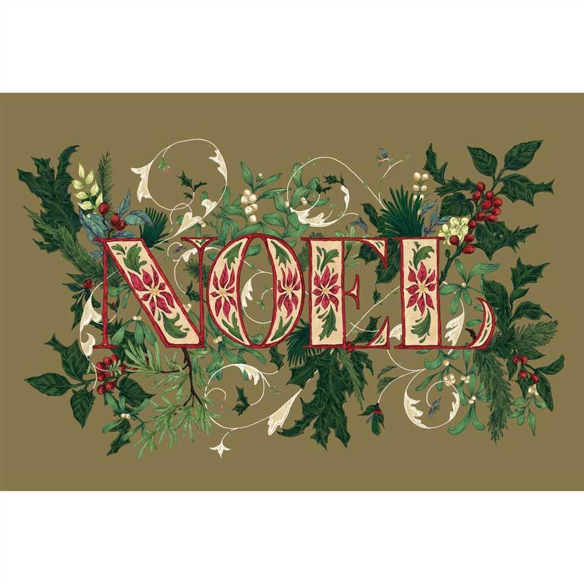 """Placemats - Papier Tischsets """"NOEL"""" von Hester & Cook"""