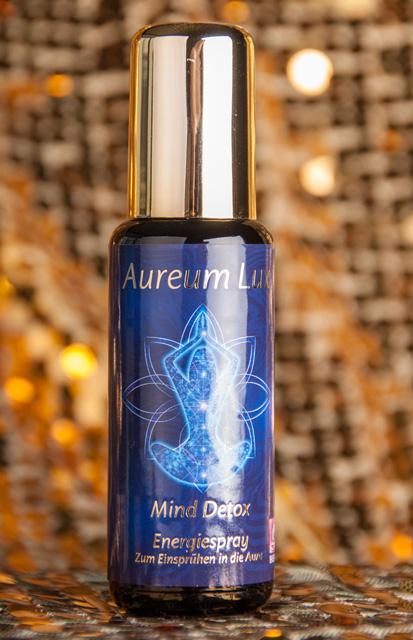 Mind Detox - Aura Spray Serie Aureum Lux