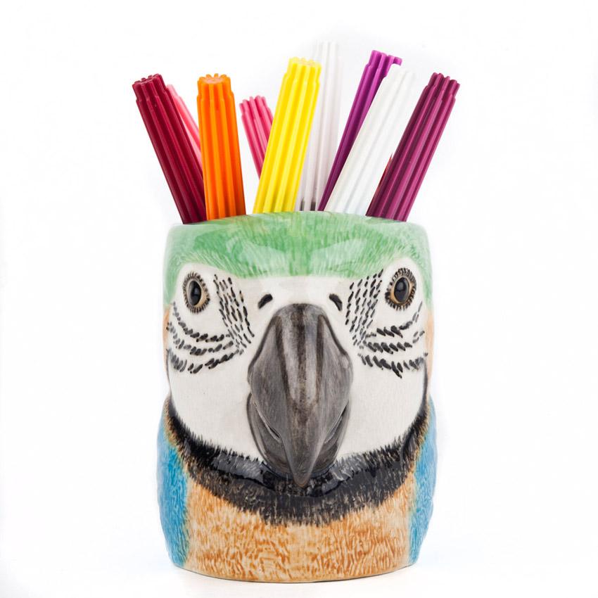 Macaw Papagei - der Keramikbecher von Quail Ceramics