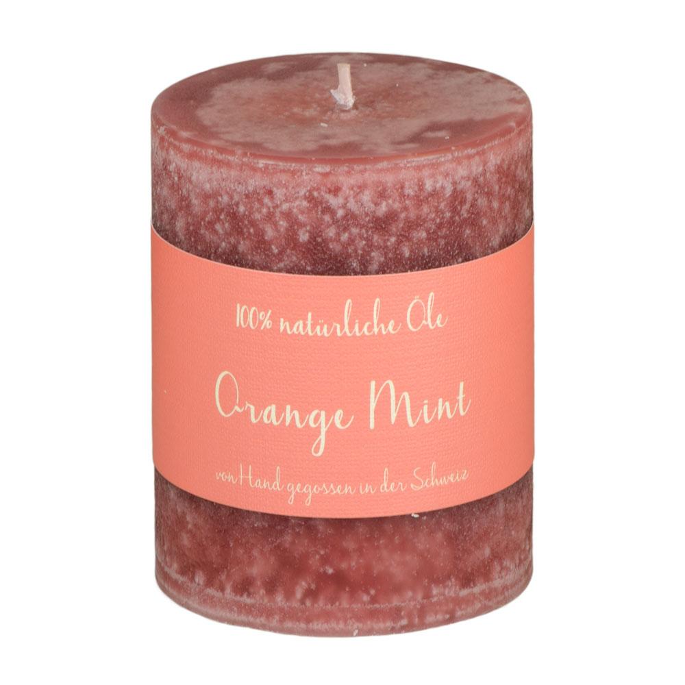 Schulthess Duftkerze Orange Mint mit 100% natürlichen Ölen