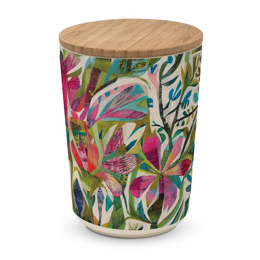 """Große  Aufbewahrungsbox - Vorratsdose """"Cuzco"""" aus Bambus"""