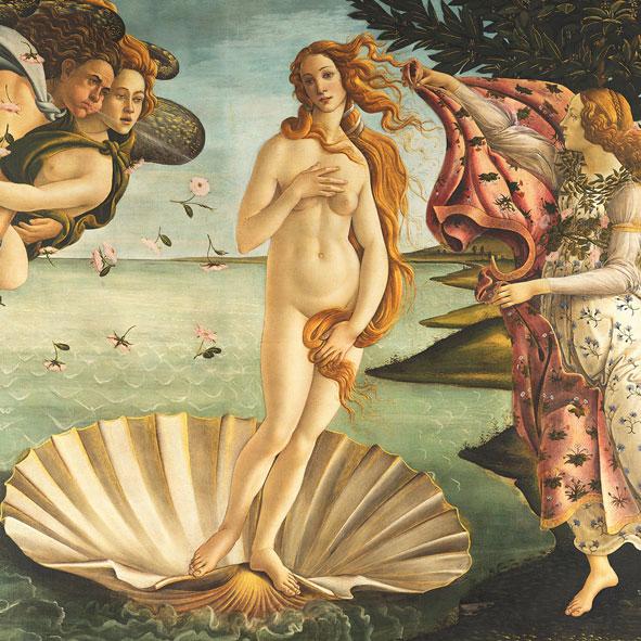 """""""Birth of Venus"""", große Papierservietten von PPD"""