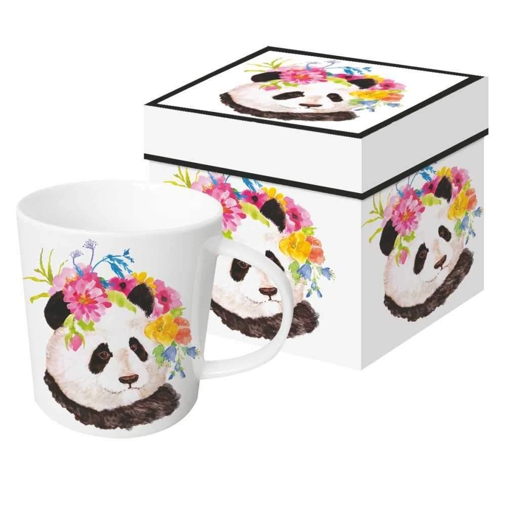 Flora Panda - die große Porzellantasse von PPD