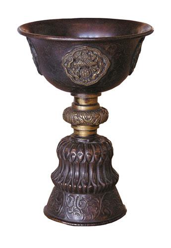 Bod - Kupferkelch für Rituale & Räucherungen