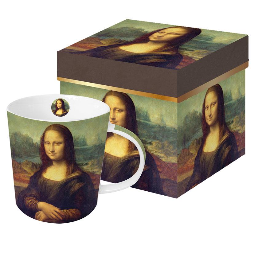 Mona Lisa - die große Porzellantasse von PPD