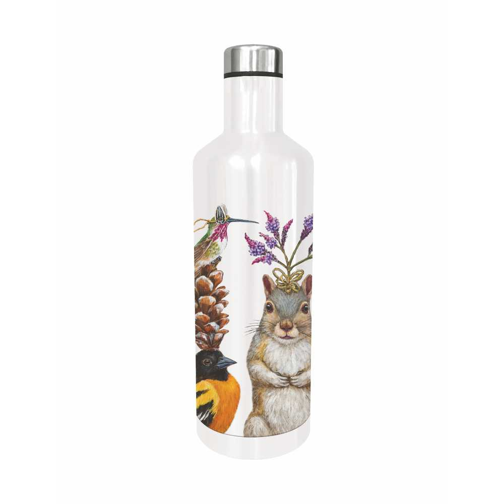 "Edelstahl - Trinkflasche ""Party Snacks"" von Paperproducts Design"