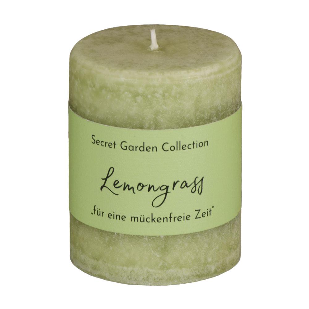 Antimücken - Duftkerze Lemongrass - von Schulthess Kerzen