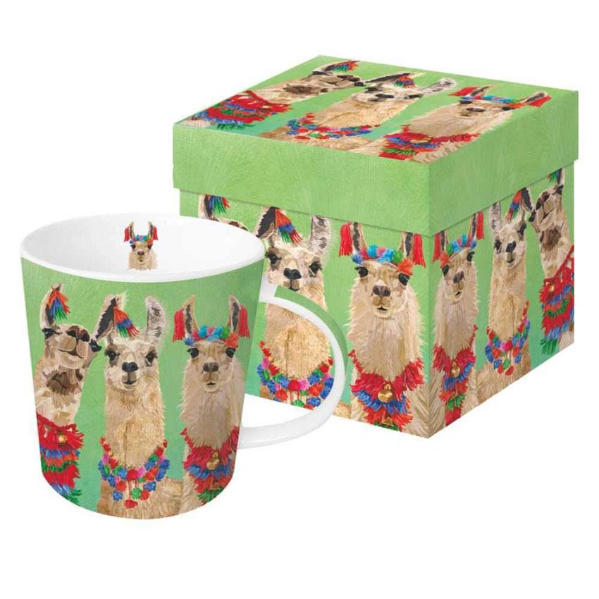 LLama Amigos - Trend Mug & Geschenkebox von PPD