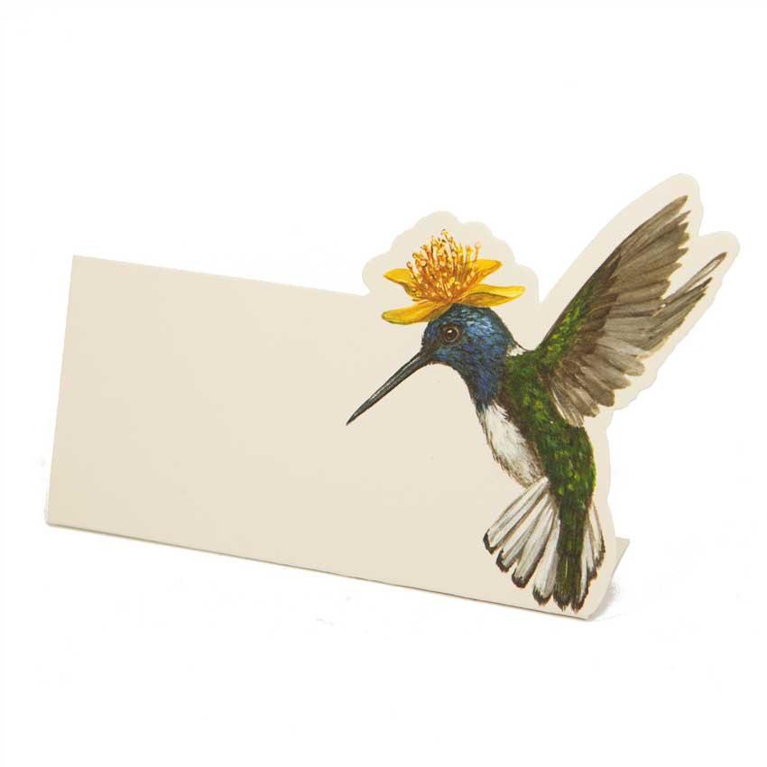 "Place Card - Tischkarten aus Papier ""NEW JUMBO HUMMINGBIRD"" von Hester & Cook"