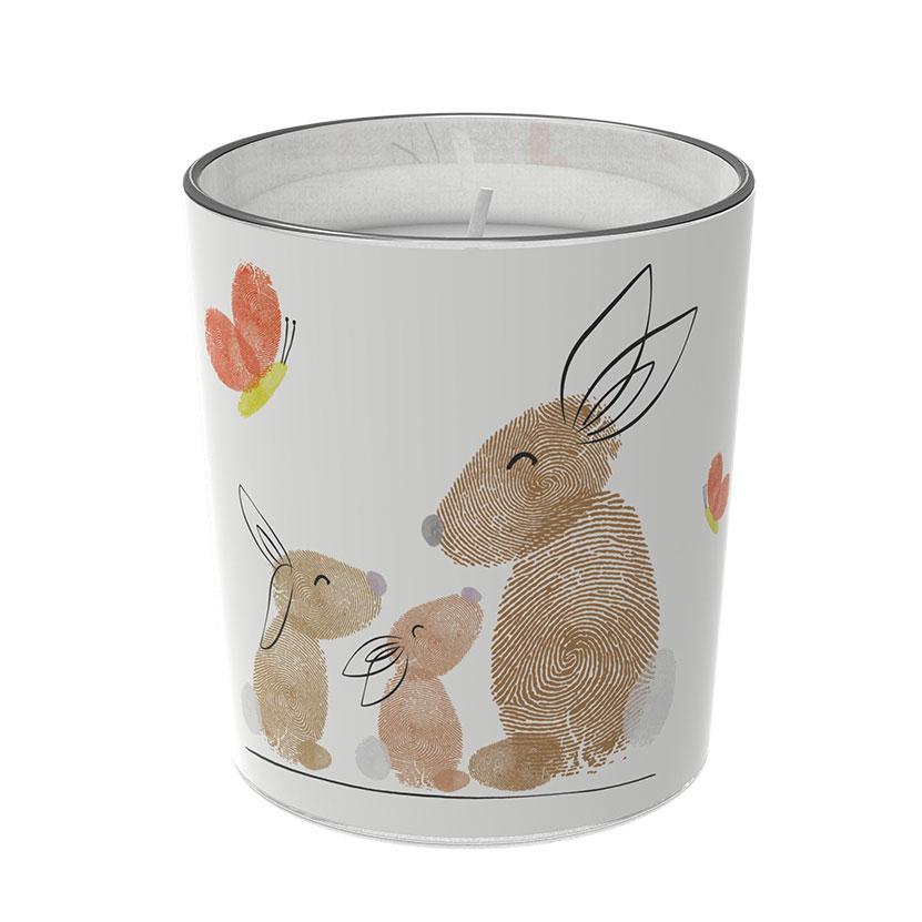 """Osterkerzen Glas Rita - """"die Aufmerksamen"""" - von Engels Kerzen"""