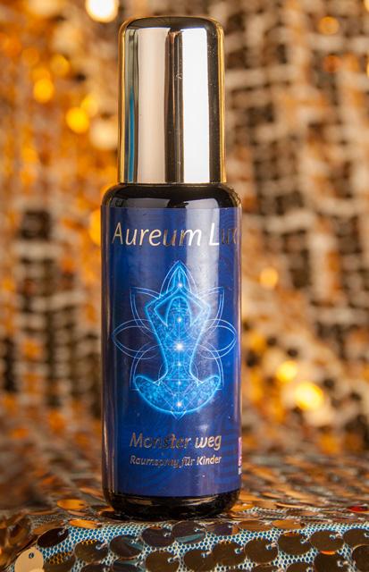 Monster weg - Spray für Kinder - Aura Spray Serie Aureum Lux