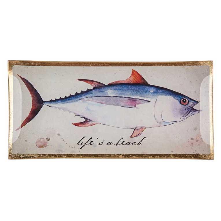 "Love Plates - Glasteller ""Life's a beach"" von Gift Company"