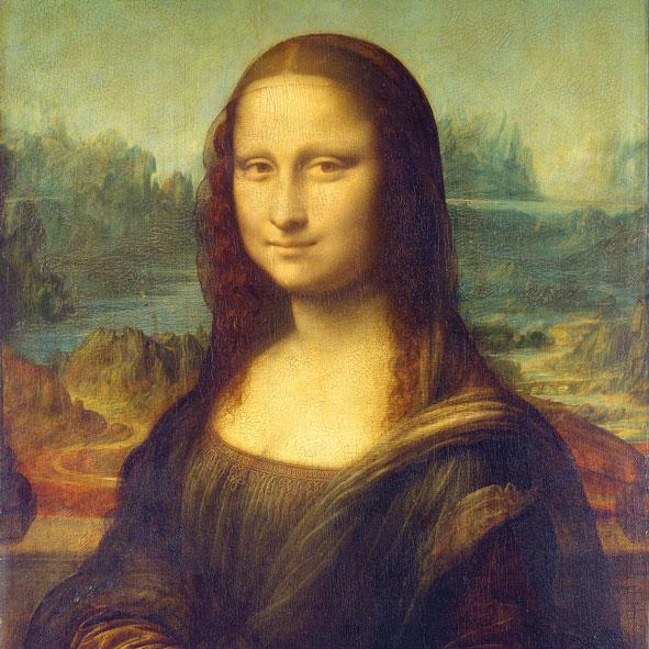 """""""Mona Lisa"""", große Papierservietten von PPD"""