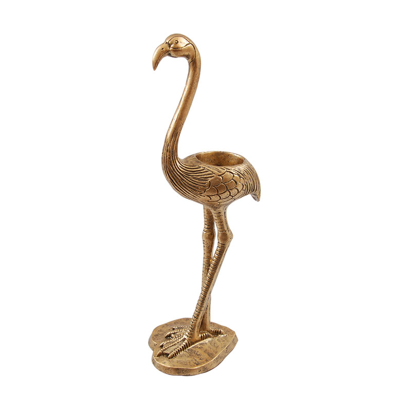 Pretty Flamingo - Kerzenhalter für Teelichter
