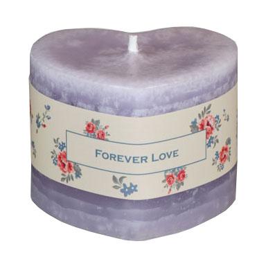 Schulthess Herzkerze - Duft Forever Love