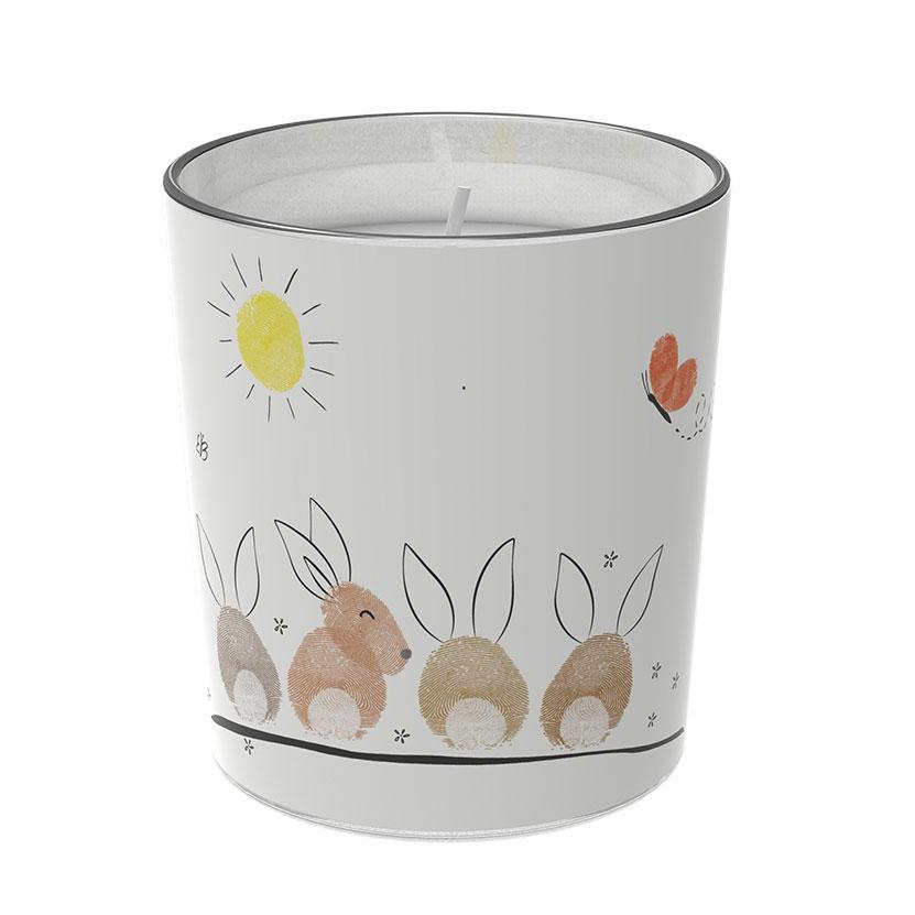 """Osterkerzen Glas Rita - """"die Tuschelnden"""" - von Engels Kerzen"""