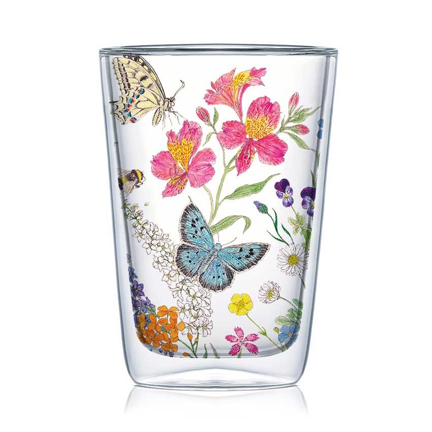Nature Romance - Latte Macchiato Glas von PPD