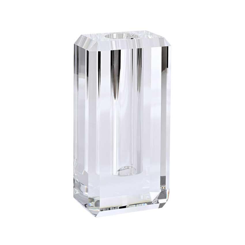 Dioptrics Kristallglas Vase - Transparent M - von der Gift Company