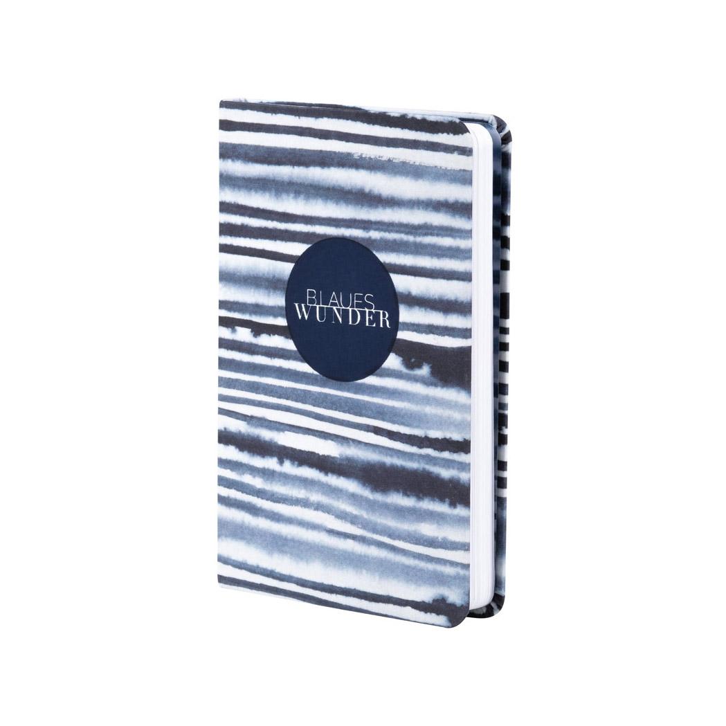 """Tintenblau. Notizbuch. """"Blaues Wunder"""" - Papeterie von Räder"""