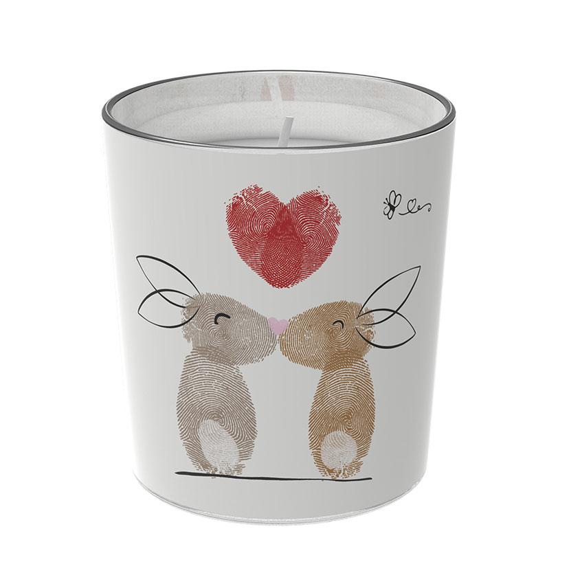 """Osterkerzen Glas Rita - """"die Liebenden"""" - von Engels Kerzen"""