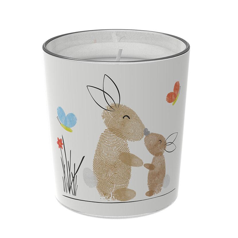 """Osterkerzen Glas Rita - """"die Fürsorglichen"""" - von Engels Kerzen"""