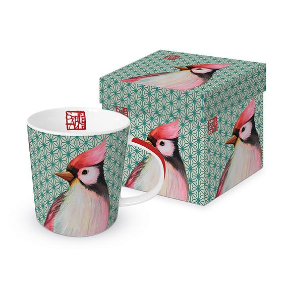 Oiseau Japonais - die große Porzellantasse von PPD