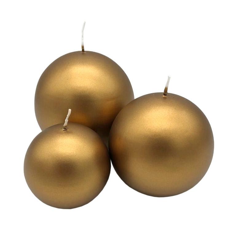 Engels KUGELKERZE in Sonderlack - Farbe Gold