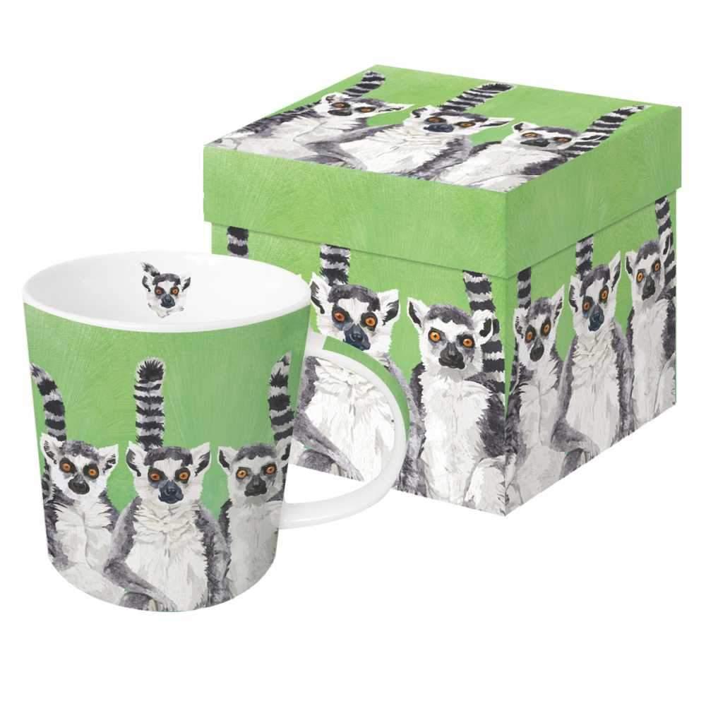 Lemur Amigos - Trend Mug & Geschenkebox von PPD