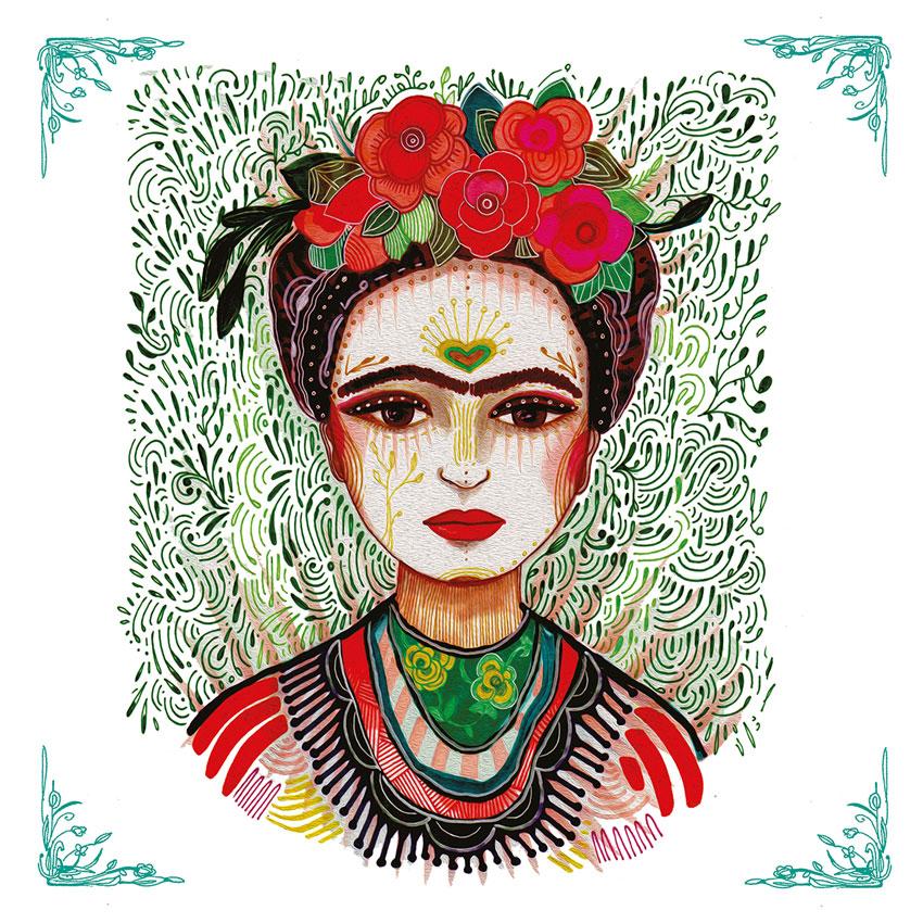 """""""Frida"""", große Papierservietten von PPD"""