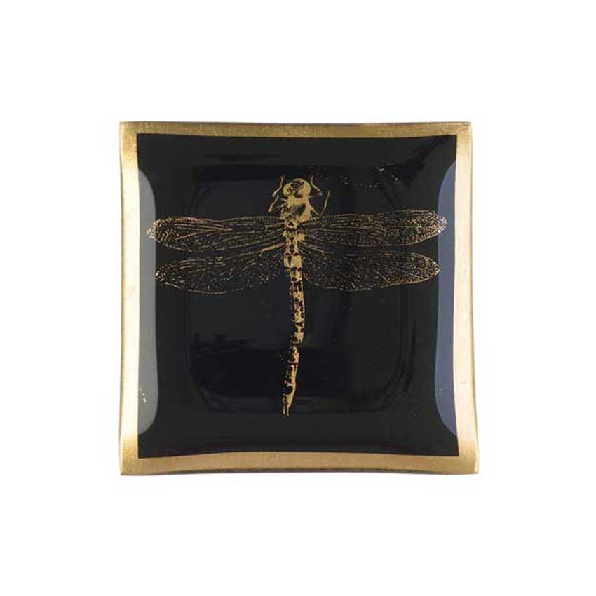 "Love Plates - Glasteller ""Libelle"" von Gift Company"