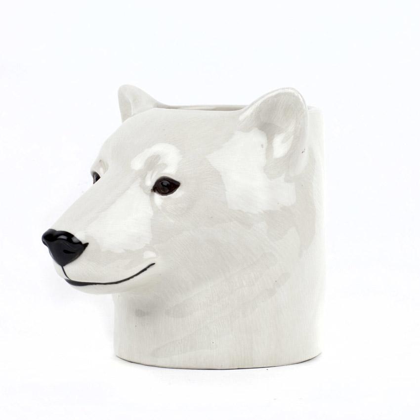 Eisbär - der Keramikbecher von Quail Ceramics