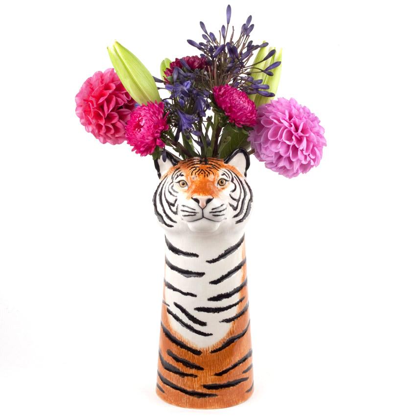 Quail Ceramics - die große Tiger Blumenvase
