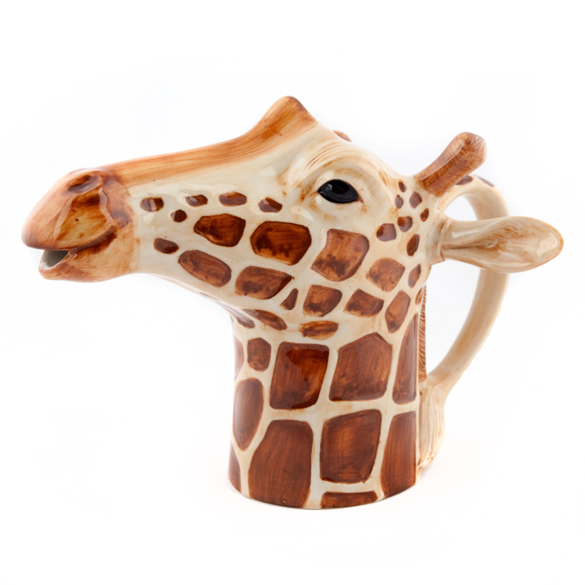 Quail Ceramics Jug - das große Giraffen - Kännchen