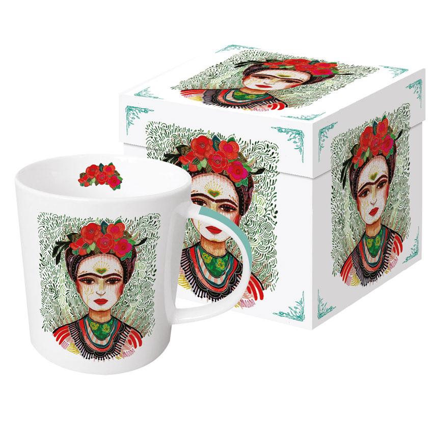 Frida - Memories of the Heart - Trend Mug & Geschenkebox von PPD