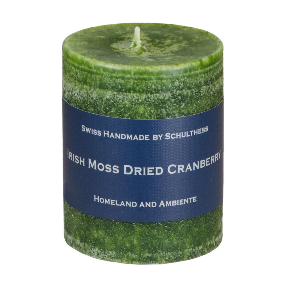 Schulthess Duftkerze Irish Moos - Dried Cranberry