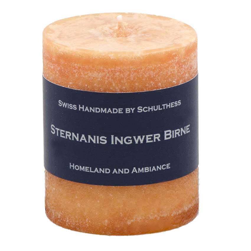 Sternanis / Ingwer / Birne - Schulthess Duftkerzen