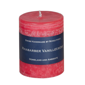 Schulthess Duftkerze Rhabarber - Vanillecreme