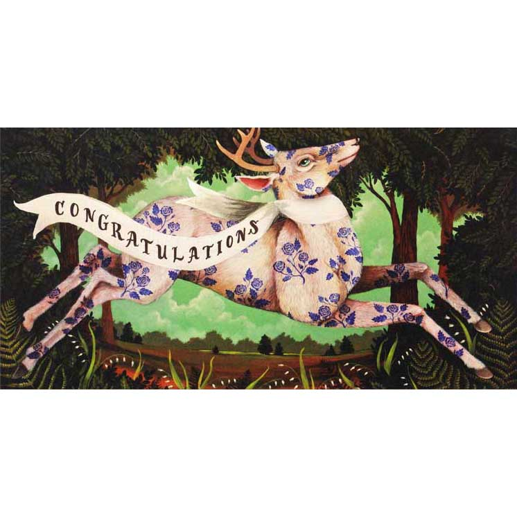 "Glückwunschkarte ""THE BEAUTY OF A RARE FIND"" von Hester & Cook"