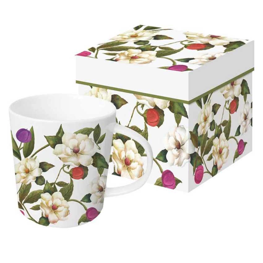 Southern Magnolias - Trend Mug & Geschenkebox von PPD