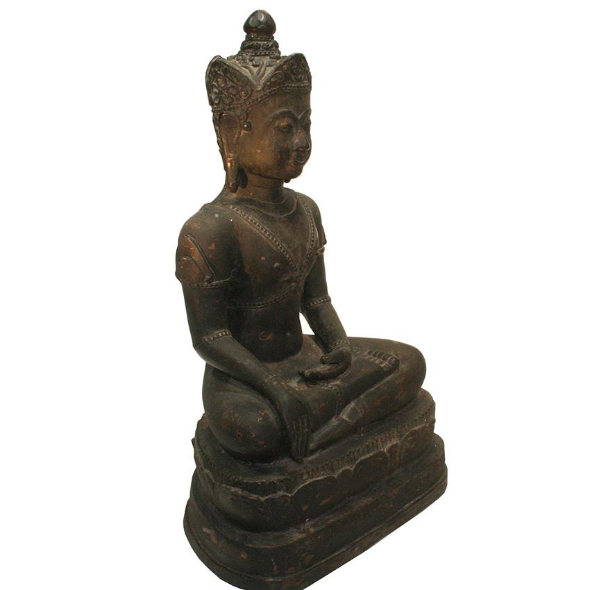 Königsbuddha Darstellung im Burmesischen Shan (Tai Yai) Stil