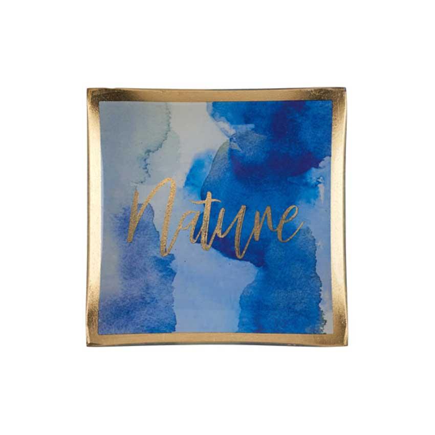 "Love Plates - Glasteller ""Nature"" von Gift Company"