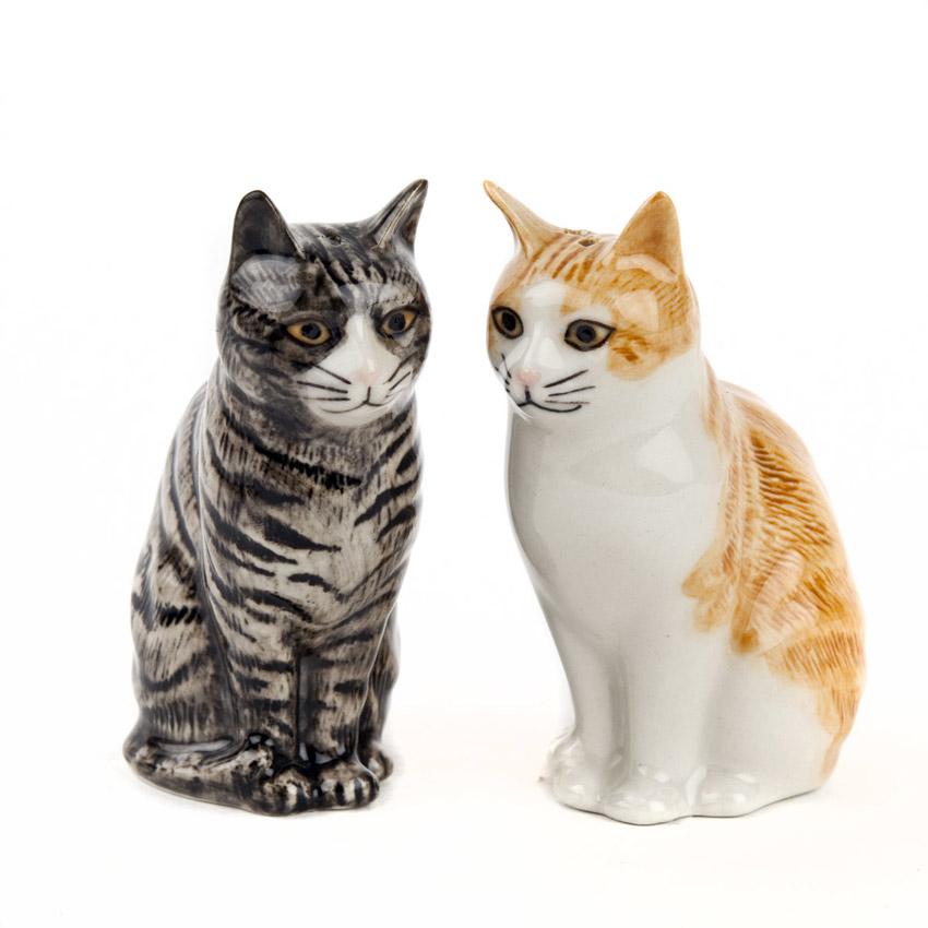 Patience & Squash - die Salz und Pfeffer Streuer von Quail Ceramics