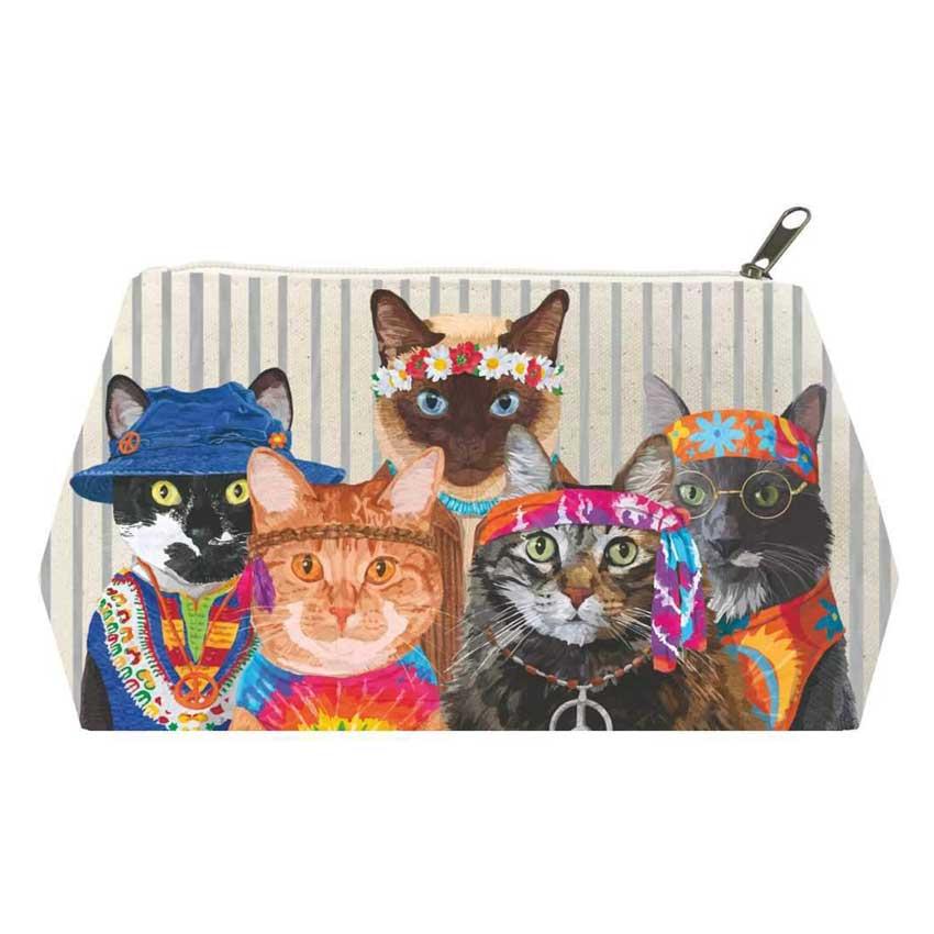 """""""Groovy Cats"""" - Kosmetiktasche von Paperproducts Design"""