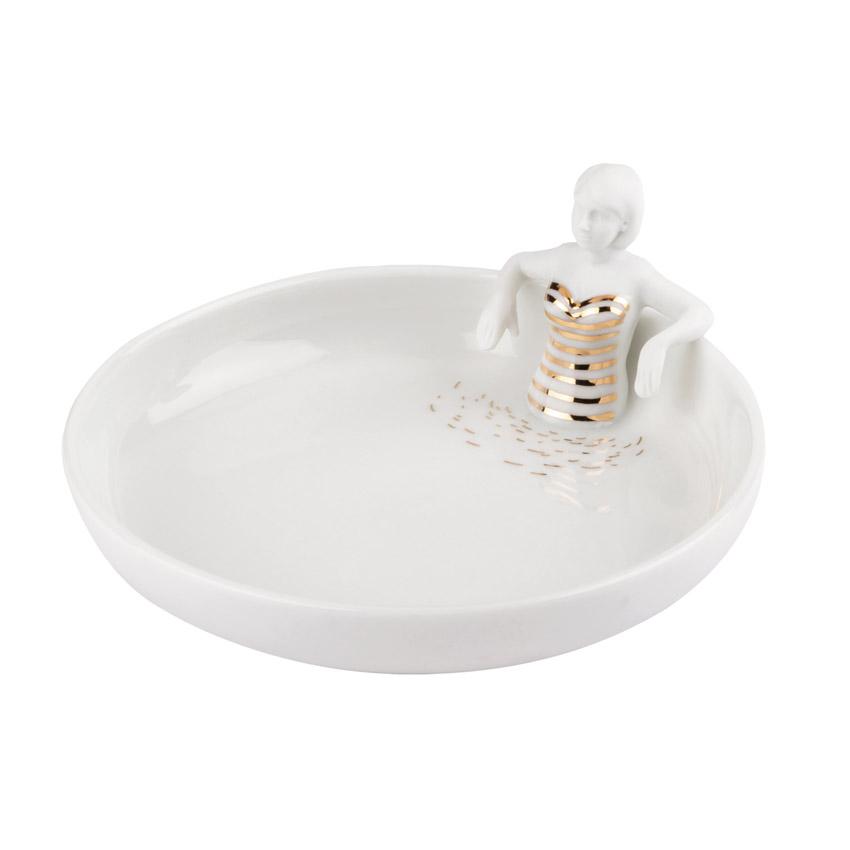 Porzellangeschichten - Schale Schwimmbad von Räder