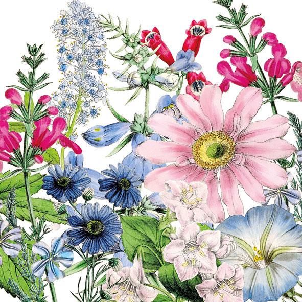 """""""Floriculture"""", große Papierservietten von PPD"""