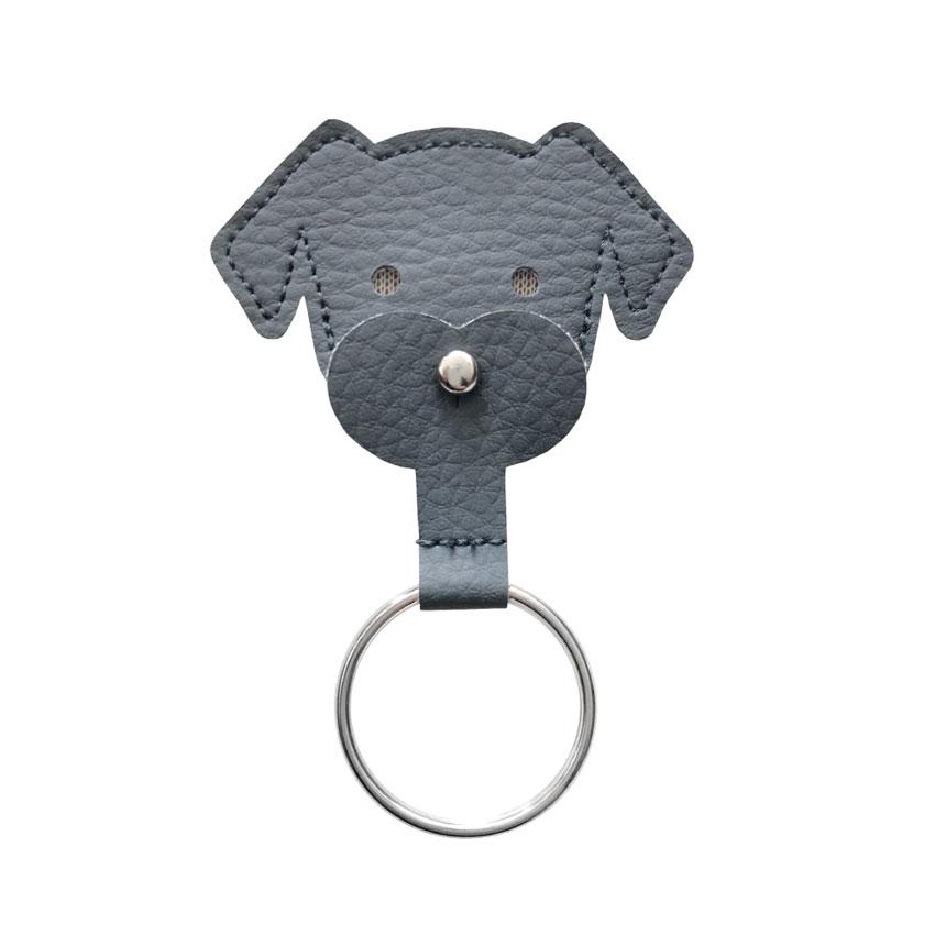 Schlüsselanhänger Dogchip anthrazit