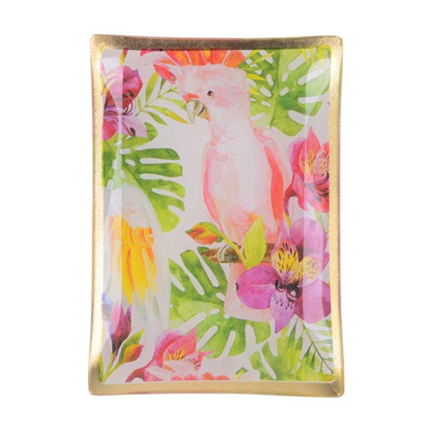 """Love Plates - Glasteller """"Birds"""" von Gift Company"""
