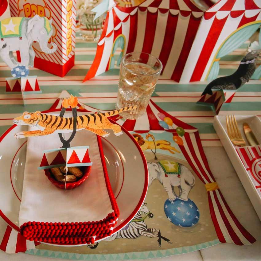 "Tisch Ornamente ""CIRCUS TRIO"" von Hester & Cook"